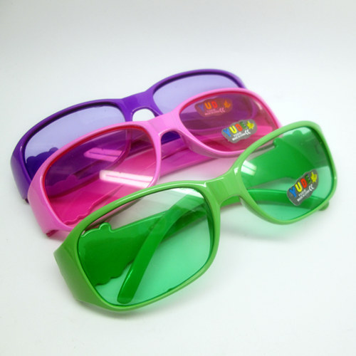 Children's sunglasses glasses toys colorful fashion toys free shipping(China (Mainland))