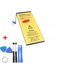 Genuine High Capacity 3800mAh Gold Li-ion Replacement Battery For iPhone 6 Plus iPhone6 5.5 inch internal Battery + Repair Tools