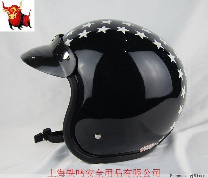 Free shipping motorcycle helmet sports / export Japan / OGK OEM / upscale retro helmet flight helmet / black Little Star(China (Mainland))