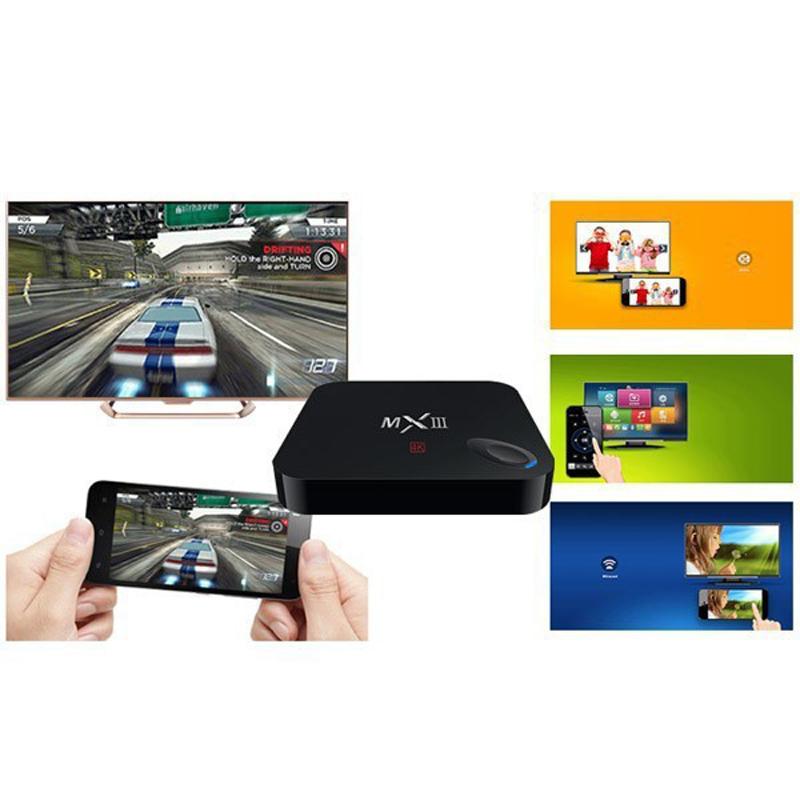 Full HD TV Box Google Android 4K Amlogic Full HD Media Player Internet TV Box Europe Channels Apk android mini tv box(China (Mainland))