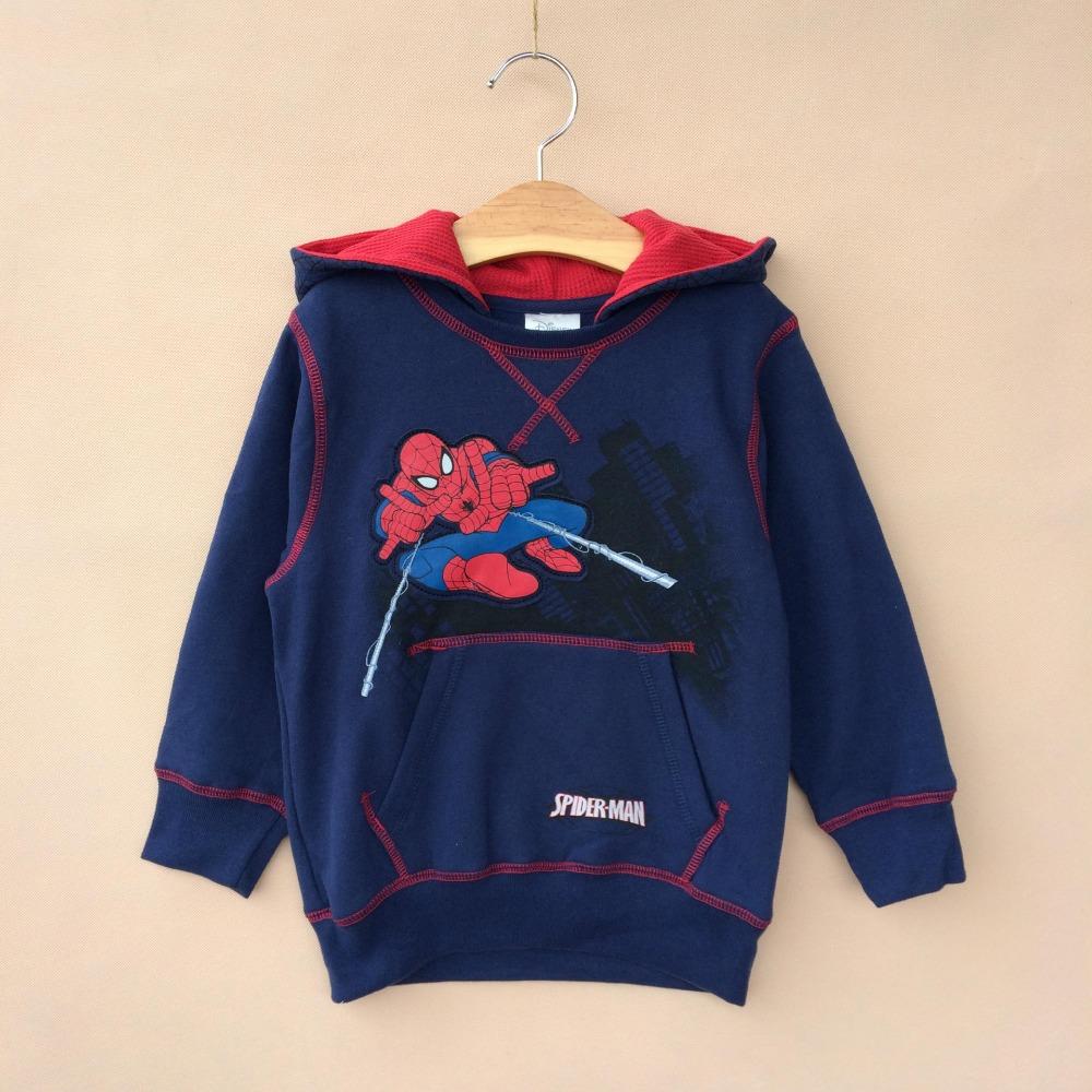 Free Shipping 5pcs/lot Baby Boys Spiderman Hoodies<br><br>Aliexpress