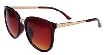 New 2014 fashion vintage Big Lenses brand design Metal sunglasses Luxury retro women s round sun