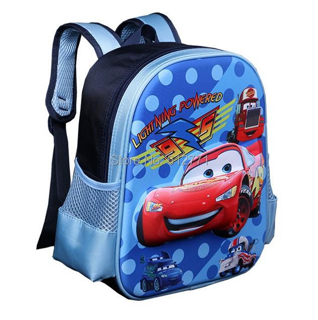 Гаджет  2014 new cars 3D children kindergarten school bag boy students outdoor creative backpack small travel cartoon bag Christmas gift None Камера и Сумки