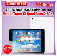 Original Xiaomi Mi Pad Mipad 64GB Quad Core 7.9 inch 2048X1536 Tegra K1 2.2GHz 2GB RAM 8M Android Tablet PC 6700mAh