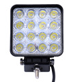2PCS 48W 4800LM IP65 LED Work Light for Indicators Motorcycle Driving Offroad Boat Car Tractor Truck