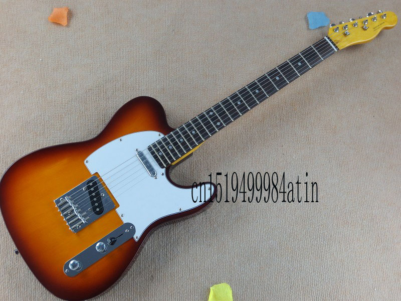 Free Shipping Quality telecaster Guitar Tokai Goldstar Sound Vintage Cherry Red Sunburst Electric Guitar Rosewood Fret boa @6(China (Mainland))