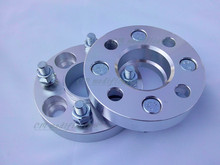 A pair of (2) 4 x4. 5 (114.3 mm), the center hole is 56.6 mm, wheel adapters, spacers, applicable to the buick excelle(China (Mainland))