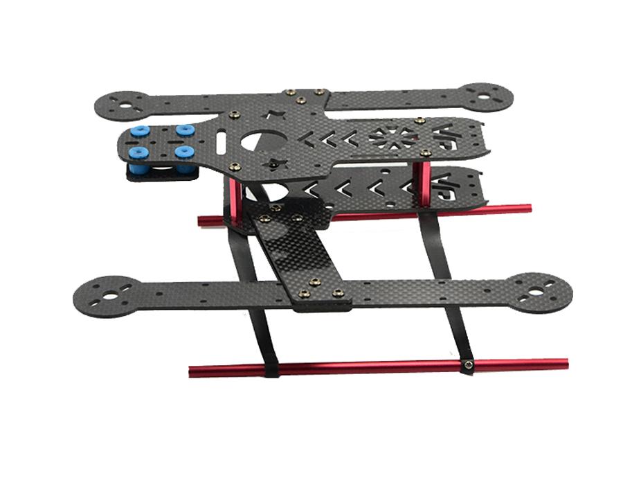 F14088/89 FCM280 Mini 280 mm 4-axle Quadcopter Frame Kit Unassembled DIY Personality FPV RC Drone UAV - Carbon / Glass Fiber +FS ShenZhen FeiChao Technology Co.,Ltd JMT store