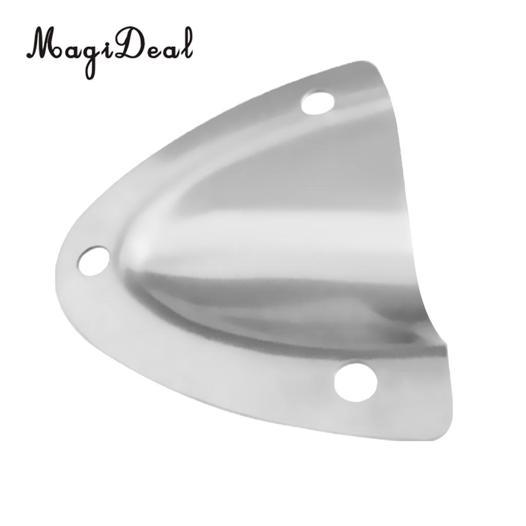 MagiDeal Durable 316 Stainless Steel Large Clam Shell Vent Wire Cable Cover For Boat Marine Hardware Yacht Dinghy Accessories