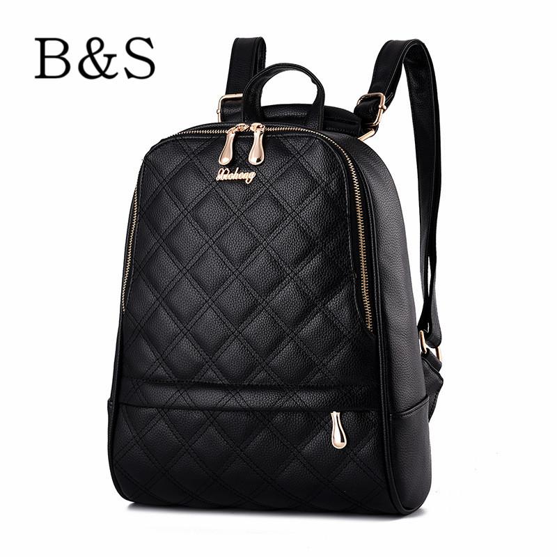 Mochila Feminina Brand New Design Classic Diamond lattice Women Backpacks Preppy Style School Bag Satchel Female Travel Bagpack(China (Mainland))