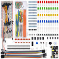 WeiKedz Electronic Components Kit MB 102 Breadboard 65 jumper wire for Ar duino Raspberry Pi STM32