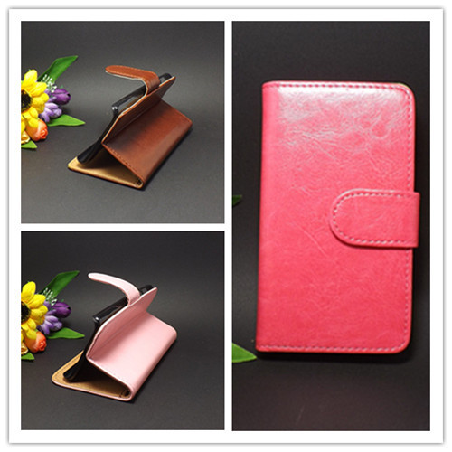 Crazy horse Flip leather case Credit Card Slots and stand function For Sony Xperia ion Lt28i  Free shipping(China (Mainland))
