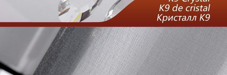 Купить Современная K9 Хрустальная Люстра Роскошный Моды Черной Ткани Абажур Домашнего Освещения 6 Лампы E14 110-240 В 2014 Новый