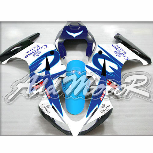 Free 5 Gift ABS Black Blue White Crown Handcrafted Fairing Fit SV650 SV1000 2003 13 Cover Racing Seat Windshield Mid Side(China (Mainland))
