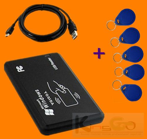 ! 13.56MHz IC UID Code Writer Copier duplicator Programmable card+Rewritable Key fobs - KingGo Access Controller store