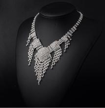 X011 Wholesale 120pcs Designs Crystal Rhinestone Necklace Earrings Fashion Jewelry Sets Party Wedding Accessories(China (Mainland))