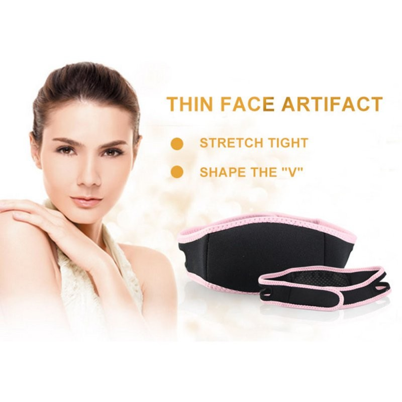 2017 New est  Face Lift Up Belt Sleeping Face-Lift Mask Massage Slimming Face Shaper Relaxation Facial Slimming Bandage