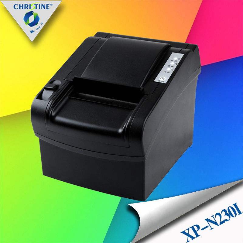 High Spped 80mm USB Thermal Receipt Printer Serial Printer Support Multilingual Print POS Kitchen Receipt Printer XP-N230I<br><br>Aliexpress