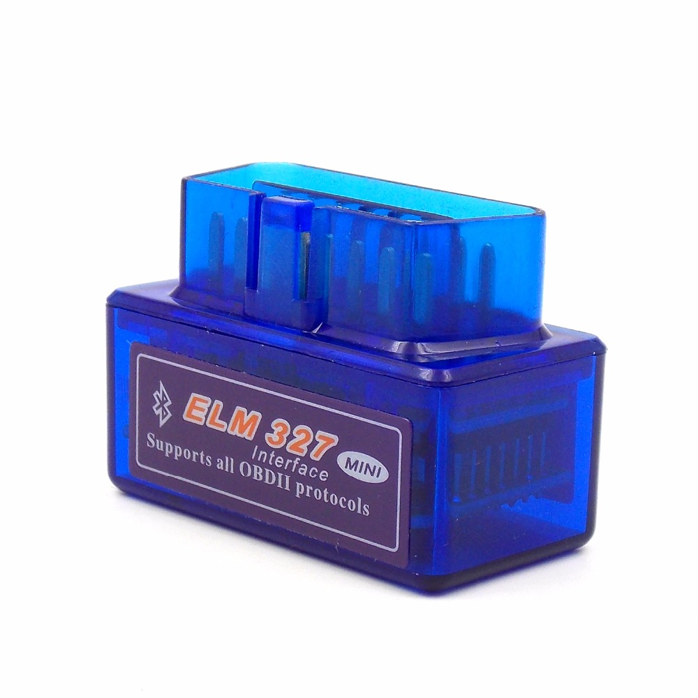 Super Mini ELM327 OBD2 Bluetooth Interface Car Diagnostic tool Auto Car detector Scanner obdii for Android window(China (Mainland))