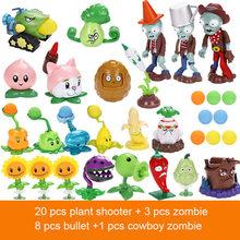 Figura de ação Brinquedos para Crianças PVZ Plantas VS Zombies Squeeze Lançamento Modelo Planta vs Zumbi Estatueta Brinquedo Da Novidade Da Mordaça para presente C(China)