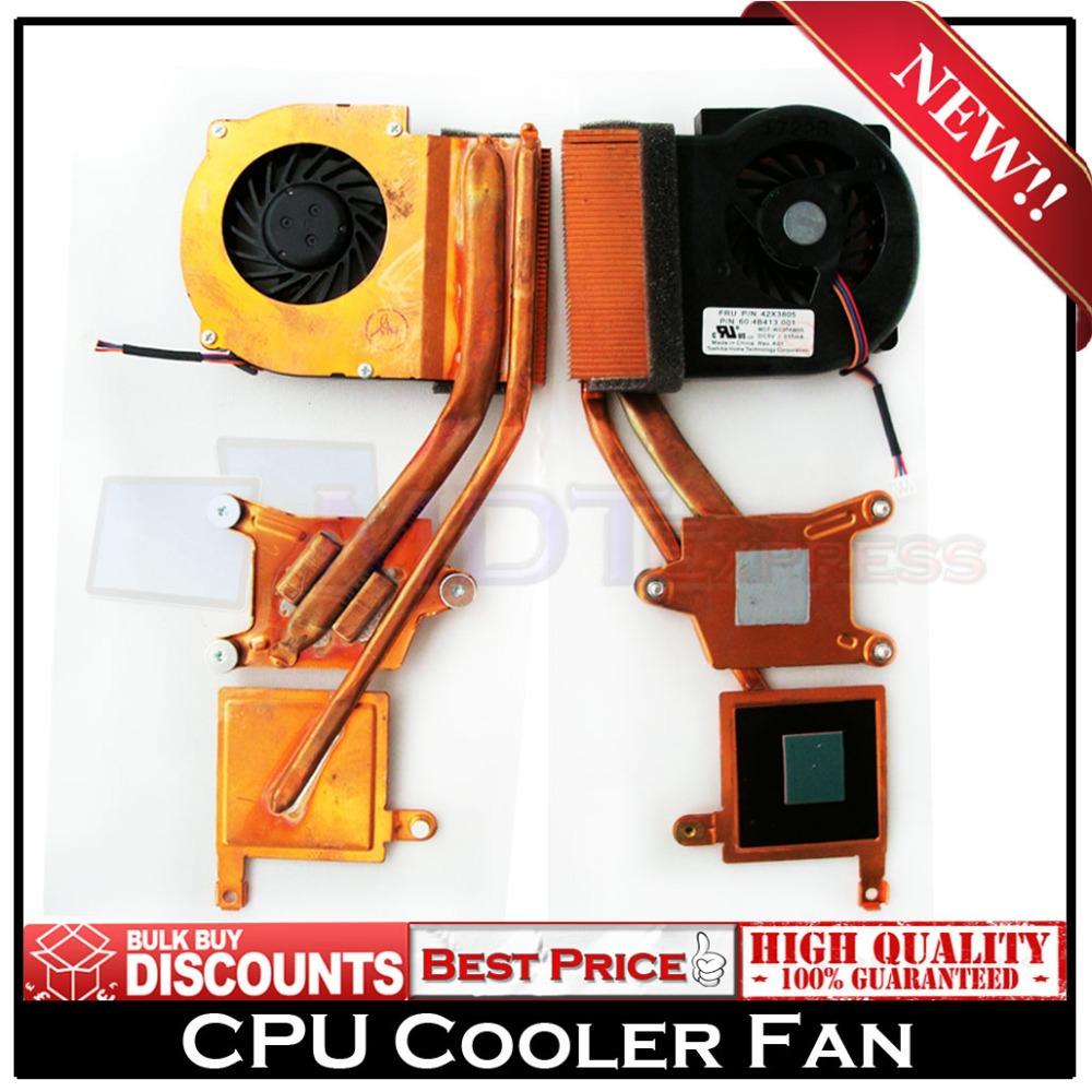 Brand New! CPU Laptop Cooler Cooling Fan w/ Heatsink for IBM Lenovo ThinkPad X60 X60S X61 X61S P/N: 42X3805(China (Mainland))