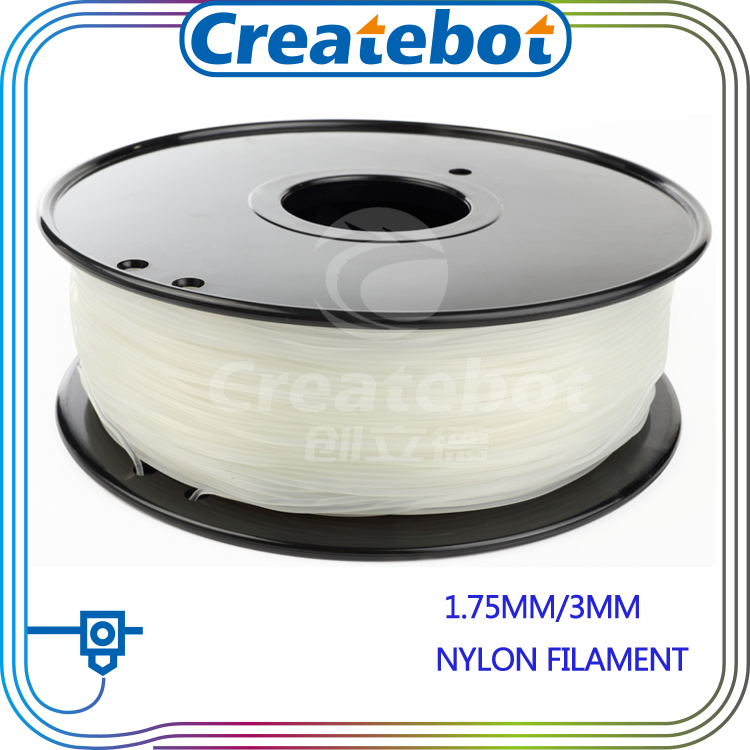 Natural color nylon filament 3d printer PA material 1 75mm 3mm 3d filament nylon filament