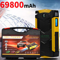 New High Capacity 12V Multi Function Emergency Car Jump Starter 4USB Power Bank Mini Compass SOS