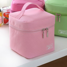 2016 new thermo lunch bag cooler insulated lunch bags for women kids thermal bag lunchbox food
