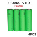 4PCS lot New 100 Original 3 6V 18650 US18650VTC4 2100mAh High drain VTC4 For SONY 30A
