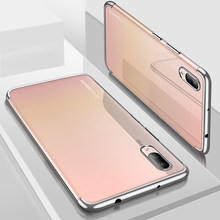 Silicon Clear Soft Case For Huawei P20 P20 Pro P20 Lite P10 P10 Plus Mate10 Mate 10 Pro Honor 10 Slim Cell Phone Cover Casing(China)