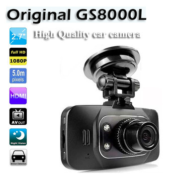 100% Original Ambarella Car DVR Camera Recorder GS8000L Full HD 1920*1080P 30FPS G-Sensor 2.7'' LCD(CDC-15)(Hong Kong)