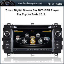 Car Radio For Toyota Auris 2013 with DVD GPS Audio Video Player BT Ipod Free Map(China (Mainland))