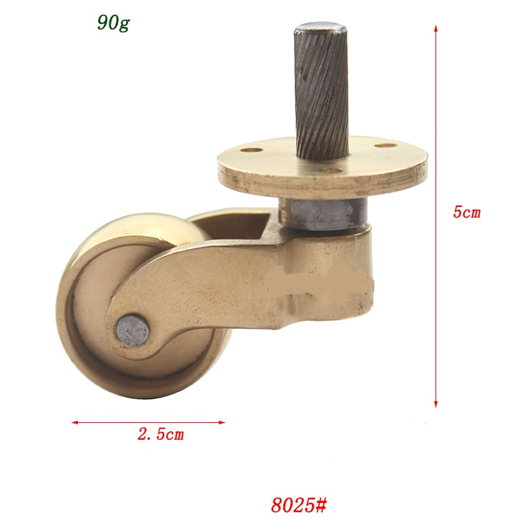 4 pieces copper brass caster wheels furniture for 2 furniture casters