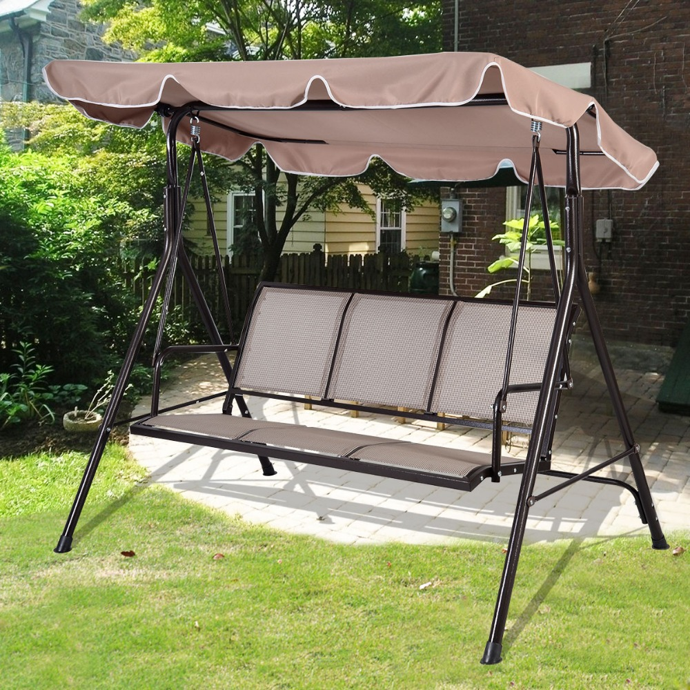 Гаджет  PROMOTION SWINGING 3 SEATER GARDEN HAMMOCK SWING RELAX SEAT OUTDOOR BENCH CHAIR PATIO FREE SHIPPING OP2575 None Мебель