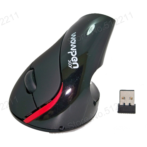 Healthy 2.4G Mouse Vertical Ergonomic Wireless Mouse With Chargeable Built-in Battery For PC Or Notebook