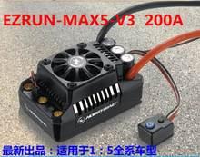 Hobbywing EzRun Max6 V3/Max5 V3/MAX10 SCT 160A/200A/120A контроллер скорости водонепроницаемый бесщеточный ESC для 1/6 1/5 RC автомобилей(China)