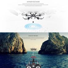 X601H Wifi FPV Real Time Transmission 2.4Ghz 4CH 6-Axis Gyro Quadcopter Aircraft Headless Mode Helicopter With Camera Drone RTF