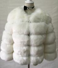 S-3XL מינק מעילי נשים 2019 חורף למעלה אופנה ורוד פו פרווה מעיל אלגנטי עבה חם הלבשה עליונה מזויף פרווה מעיל Chaquetas mujer(China)