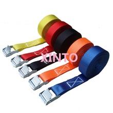 "25"",1"",250KGX1M ratchet tie down strap cargo lashing strap lifting sling auto strap auto sling binding strap sling(China (Mainland))"