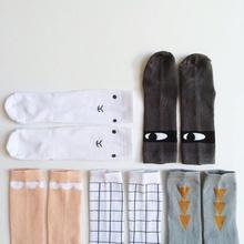 0-6Year Unisex Baby Girls Boys Knee Length Plaid Pattern Socks Children Socks meias infantil(China (Mainland))