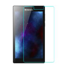 Закаленное стекло экран протектор защитная пленка для Lenovo Tab 2 A7 10 A7-10 A7-10F 7 » планшет PC + алкоголь ткань