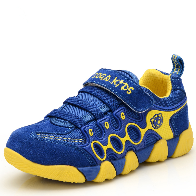 Waterproof Leather Children Shoes 2015 Spring Autumn Walking Boys Girls Sport Sneakers Child Casual Kids Trainers - Aleader Brand Flagship Store store