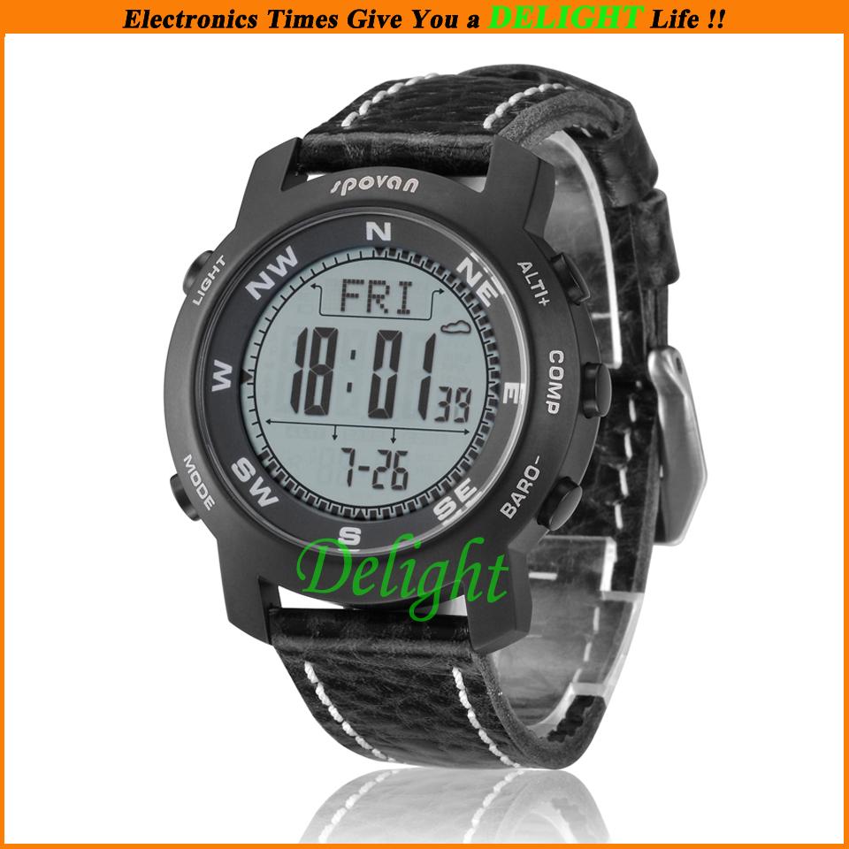 Waterproof Fashion Items Spovan Bravo2 Wristwatches Casual Bracelet Watch Outdoor Sports Men Women Watches (DL-OS002) - Delight Technology Co., Ltd. store