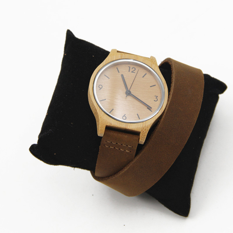 Luxury handmade womens solid wood watch made with natural ...