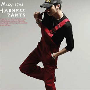 2015 Mens Straight Legg Fashion Male Denim Jumpsuit Bib Overalls Hip Hop Jeans Pants Trousers Clothing Pantalon Jean - Junestar Men Trading Co., Ltd. store