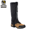 New Outdoors Camping Hiking Climbing Hunting Ski Riding bike or motorcycle Waterproof Leg Gaiters windproof gaiters