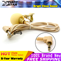 Invisible Flesh Color 3 5mm Plug Lapel Tie Clip Mic Microfone Lapela Lavalier Microphone For Computer