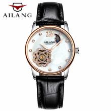 New Skeleton Watch Women Luxury Brand Famous Fashion Automatic Mechanical Watch Ladies Dress Wristwatch Relogio feminino(China)