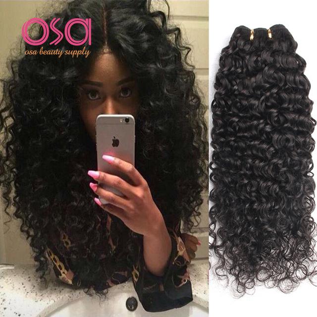Good Cheap Curly Hair Weave 10