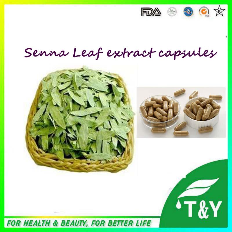 500mg x 400pcs Top grade Senna Leaf / Folium Sennae/ Senna Leaves Extract Capsule free shipping<br><br>Aliexpress